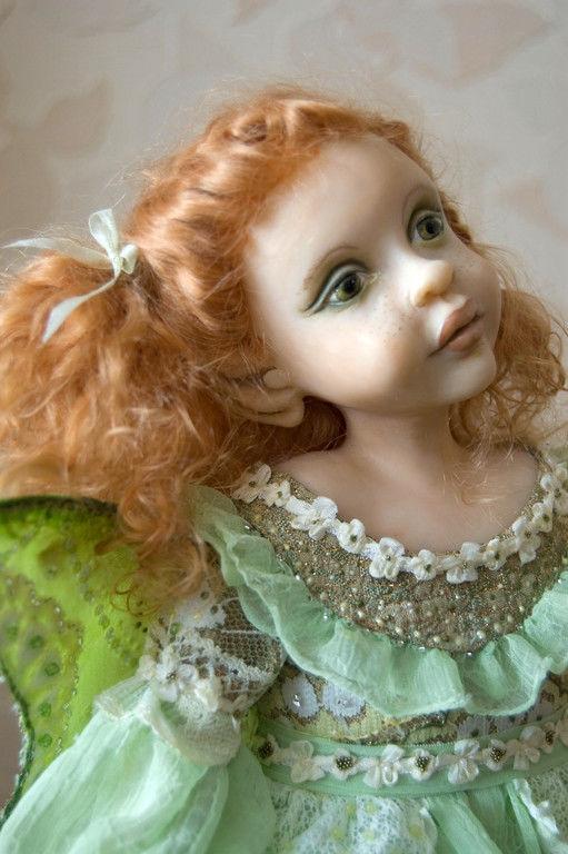 """Коллекционные куклы ручной работы. Ярмарка Мастеров - ручная работа. Купить """"Душистый Горошек"""". Handmade."""