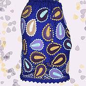 """Одежда ручной работы. Ярмарка Мастеров - ручная работа Вязаная юбка """" Magicae guttis"""". Handmade."""