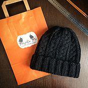 Аксессуары handmade. Livemaster - original item Hat mens Merino and Alpaca