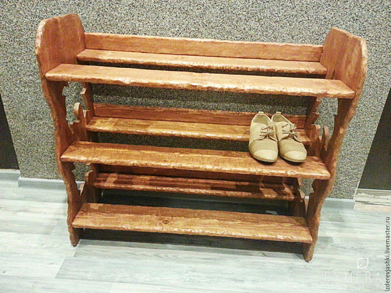 Обувница из дерева своими руками фото 14