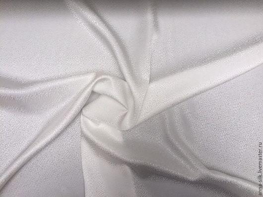 Ярмарка  Мастеров. Купить Жаккард шёлк Роса 140 см  16 мм. Натуральный шелк.  Материалы для батика, жаккард, натуральный шелк 100%.