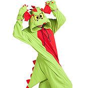 Одежда handmade. Livemaster - original item Costume kigurumi Watermelon WOTERMELON Dragon FUNKY DRAGON KIGU. Handmade.