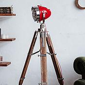 handmade. Livemaster - original item Big Moto - Lamp loft-style HighWayStar Red. Handmade.