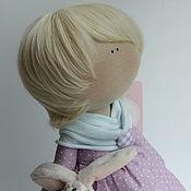 """Материалы для творчества ручной работы. Ярмарка Мастеров - ручная работа Кукольный парик""""Мальчиковый блонд88"""". Handmade."""