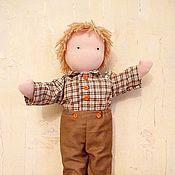 Куклы и игрушки ручной работы. Ярмарка Мастеров - ручная работа вальдорфский мальчик. Handmade.