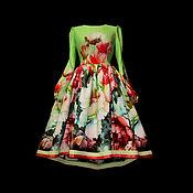 """Одежда ручной работы. Ярмарка Мастеров - ручная работа Платье """"Акварели"""" inside. Handmade."""