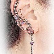 """Украшения ручной работы. Ярмарка Мастеров - ручная работа Ear cuff """"Инна"""". Handmade."""