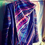 Одежда ручной работы. Ярмарка Мастеров - ручная работа куртка-трансформер ЗЕМЛЯ В ИЛЛЮМИНАТОРЕ. Handmade.