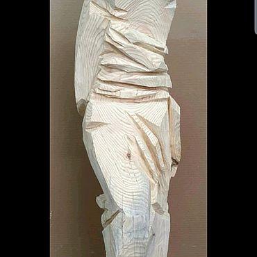 """Для дома и интерьера ручной работы. Ярмарка Мастеров - ручная работа Скульптура из дерева """"скованный"""". Handmade."""