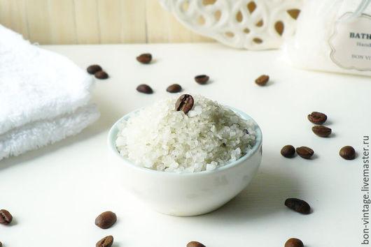 Соль для ванны ручной работы. Ярмарка Мастеров - ручная работа. Купить Капучино - соль для ванн. Handmade. Соль для ванн