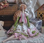 """Куклы и игрушки ручной работы. Ярмарка Мастеров - ручная работа Кукла в стиле Тильда """"Весенний букет"""". Handmade."""