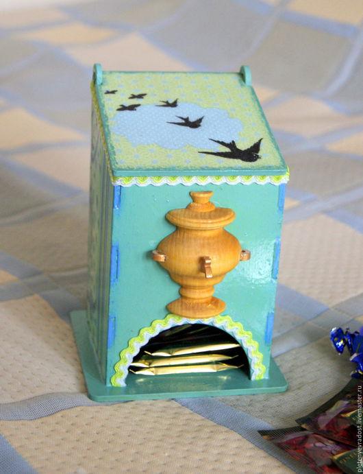 Кухня ручной работы. Ярмарка Мастеров - ручная работа. Купить Чайный домик с самоваром. Handmade. Чайный домик, для чая, сувенир