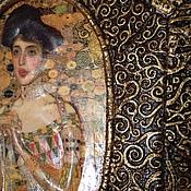 Картины и панно ручной работы. Ярмарка Мастеров - ручная работа Золотой Климт. Handmade.