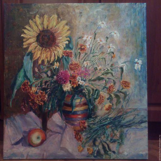 Картины цветов ручной работы. Ярмарка Мастеров - ручная работа. Купить август. Handmade. Комбинированный, бледно-розовый, красный