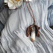 Украшения ручной работы. Ярмарка Мастеров - ручная работа Каменный  цветок. Handmade.