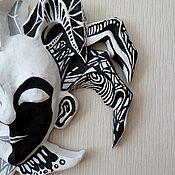 Для дома и интерьера ручной работы. Ярмарка Мастеров - ручная работа Чёрно-белый шут. Handmade.