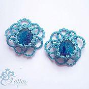 Украшения handmade. Livemaster - original item Turquoise brooches. Handmade.