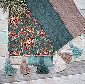 """Шарфы ручной работы. Ярмарка Мастеров - ручная работа Бохо-шарф """"Туманное волшебство"""". Handmade."""
