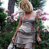 """Одежда ручной работы. Ярмарка Мастеров - ручная работа """"Пыльная роза!. Handmade."""