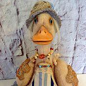 """Куклы и игрушки ручной работы. Ярмарка Мастеров - ручная работа Утка """"Кряквушку Хозяюшка"""". Handmade."""
