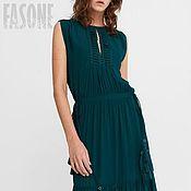 """Одежда ручной работы. Ярмарка Мастеров - ручная работа Платье изумрудное """"Emerald"""". Зеленое платье. Зеленое платье. Зеленое. Handmade."""