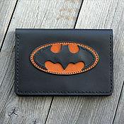 """Обложки ручной работы. Ярмарка Мастеров - ручная работа Обложка для паспорта """"Бэтмен"""". Handmade."""