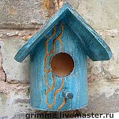 Для дома и интерьера ручной работы. Ярмарка Мастеров - ручная работа Мини-скворешник. Handmade.