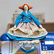Куклы и игрушки ручной работы. Ярмарка Мастеров - ручная работа Кукла тильда мадам Полина. Handmade.