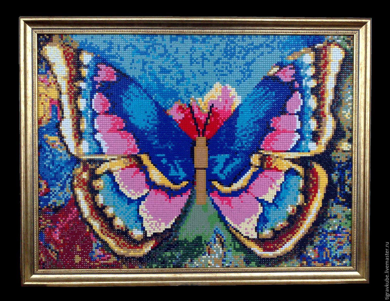 Мозаика своими руками картины алмазная