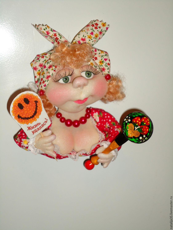 Куклы-магниты на холодильник своими руками