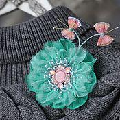 Украшения handmade. Livemaster - original item Flower brooch