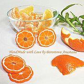 Украшения ручной работы. Ярмарка Мастеров - ручная работа Серьги «Citrus freshness». Handmade.