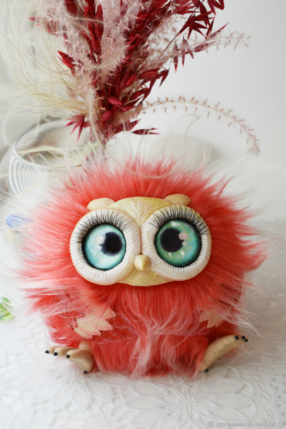 Owl. Interior decoration, Stuffed Toys, Moscow,  Фото №1