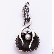 Украшения handmade. Livemaster - original item Pendant with shell. Handmade.