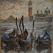 """Картины и панно ручной работы. Ярмарка Мастеров - ручная работа мозаика  """"Венеция"""". Handmade."""