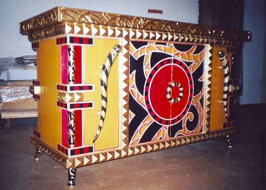 """Мебель ручной работы. Ярмарка Мастеров - ручная работа. Купить Комод """"Colombostile"""". Handmade. Комод с золотом, комод в восточном стиле"""
