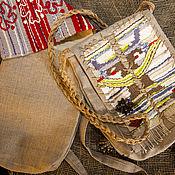 Сумка через плечо ручной работы. Ярмарка Мастеров - ручная работа Сумка через плечо: Сумка лакомник. Handmade.
