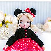Куклы и пупсы ручной работы. Ярмарка Мастеров - ручная работа Милая Микки тедди долл , интерьерная кукла подарок любимой. Handmade.