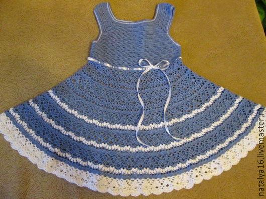 """Одежда для девочек, ручной работы. Ярмарка Мастеров - ручная работа. Купить Платье """"Лилии"""" для малышки. Handmade. Платье для девочки"""