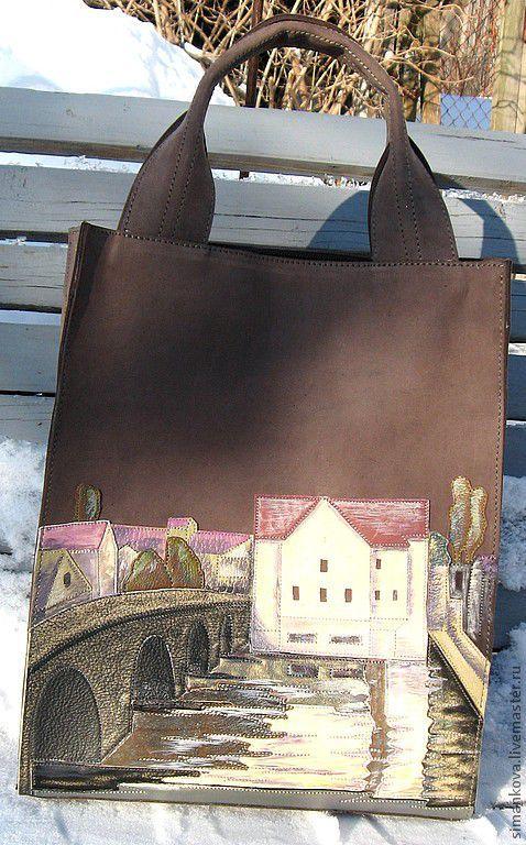 Женские сумки ручной работы. Ярмарка Мастеров - ручная работа. Купить у моста. Handmade. Натуральная кожа, сумка ручной работы