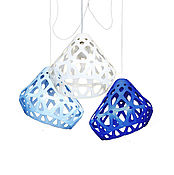 Для дома и интерьера handmade. Livemaster - original item ZAHA trehrozhkovye tricolor LIGHT chandelier 2. Handmade.