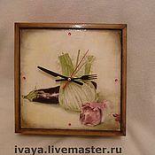 """Для дома и интерьера ручной работы. Ярмарка Мастеров - ручная работа Часики """"На любителя""""-2. Handmade."""