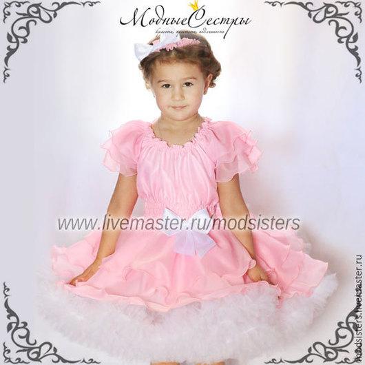 """Одежда для девочек, ручной работы. Ярмарка Мастеров - ручная работа. Купить Платье """"Розовый сон"""" Арт.229. Handmade."""