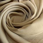 Материалы для творчества ручной работы. Ярмарка Мастеров - ручная работа Итальянский плательно-блузочный крепдешин MAX MARA,1500руб-м. Handmade.