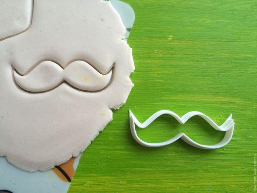Кухня ручной работы. Ярмарка Мастеров - ручная работа. Купить Форма для печенья Усы. Handmade. Разноцветный, формочка для печенья