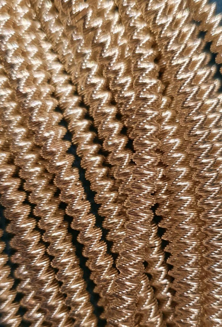 Трунцал витой толстый Светлое золото, Аксессуары для вышивки, Тольятти,  Фото №1