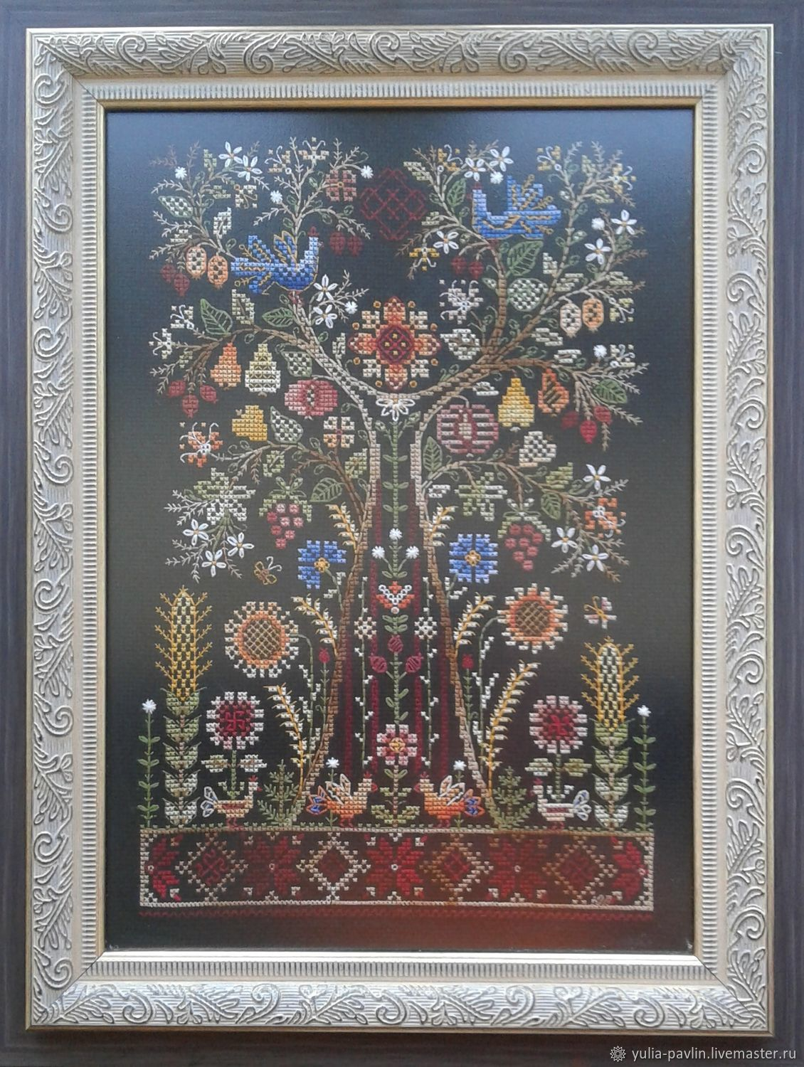 Talisman-Tree Of Life. The scheme for embroidery cross, Patterns for embroidery, Ufa,  Фото №1