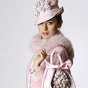 """Одежда ручной работы. Ярмарка Мастеров - ручная работа Пальто """"Розовое безе"""". Handmade."""
