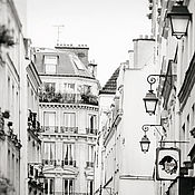 Картины и панно handmade. Livemaster - original item Black and white photo paintings Paris - fine art photographs of the city