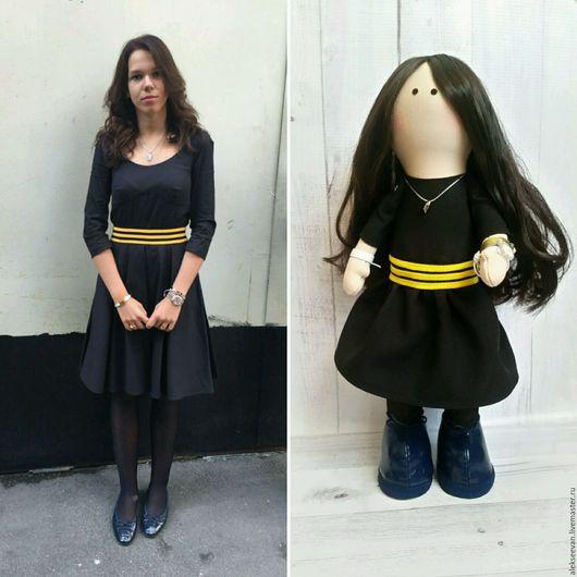 Портретные куклы ручной работы. Ярмарка Мастеров - ручная работа. Купить Портретная кукла Саша. Handmade. Комбинированный, единственный экземпляр